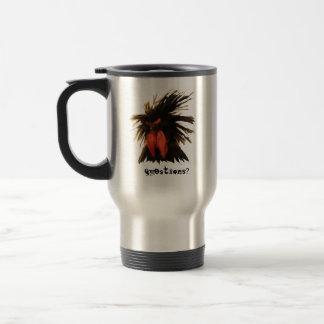 weirdo (chicken) travel mug