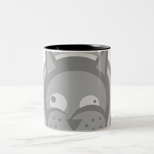 Weirdy Cats 15oz Two-Tone Mug