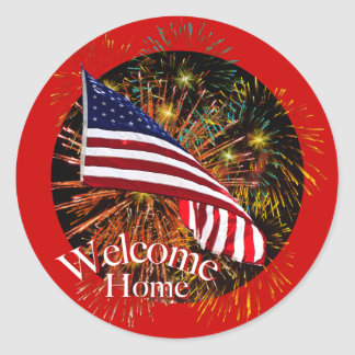 Welcom Home Troops Stickers