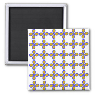Welcome / 5.1 Cm Square Magnet