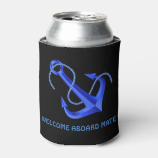 """""""WELCOME ABOARD MATE CAN COOLER"""