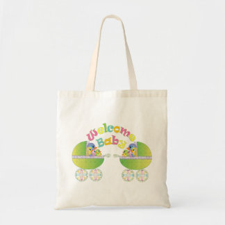 Welcome Baby Budget Tote Bag