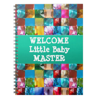 Welcome BABY Master Spiral Note Book