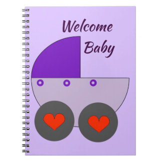 welcome baby notebook