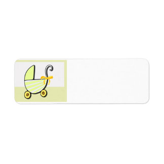 Welcome Baby or Baby Shower Return Address Label