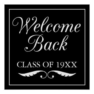 Welcome Back Class Of Poster