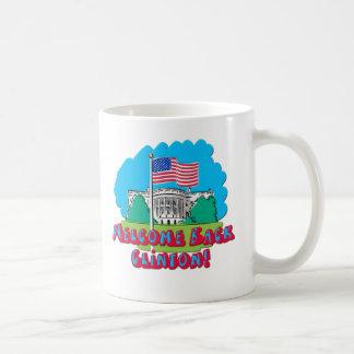 Welcome Back Clinton -- Anti Obama Coffee Mugs