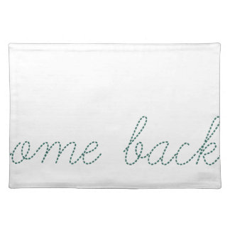 Welcome Back Place Mats