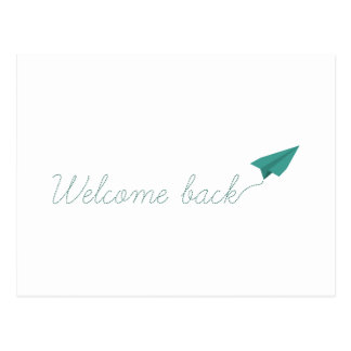Welcome Back Postcard