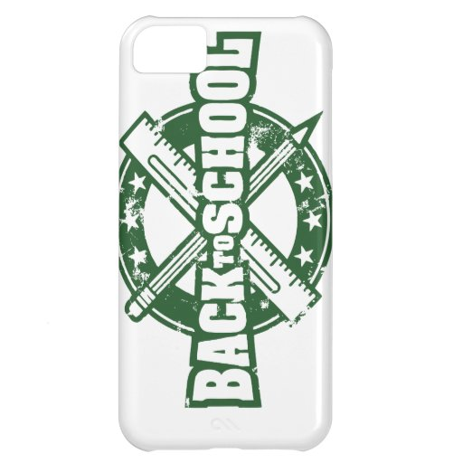 Welcome Back To School iPhone 5C Case
