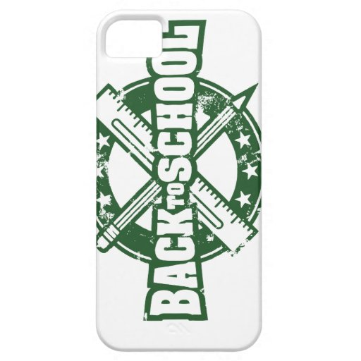 Welcome Back To School iPhone 5 Covers