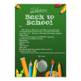 Back To School Invitations & Announcements Zazzle com au