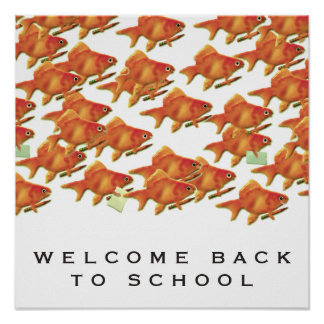 Welcome Back To School Poster