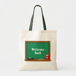 Welcome Back to School Tote Bag
