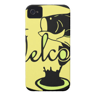Welcome Bass iPhone 4 Case-Mate Case