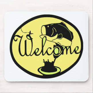 Welcome Bass Mouse Pad