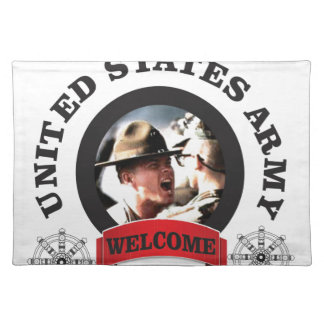 welcome boys placemat