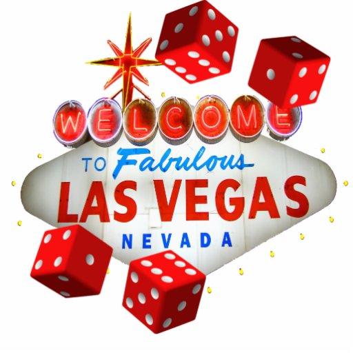 Welcome Dice Las Vegas Photo Sculpture Zazzle