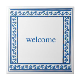 welcome digital tile design in traditional style