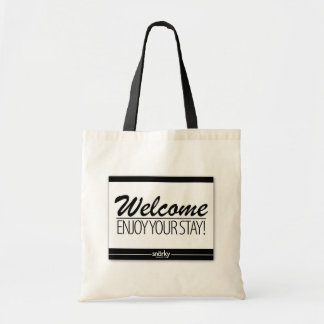 Welcome Enjoy Your Stay Doormat Tote Bag