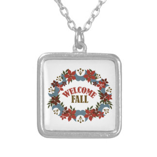 Welcome Fall Custom Necklace