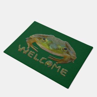 Welcome Frogs Doormat