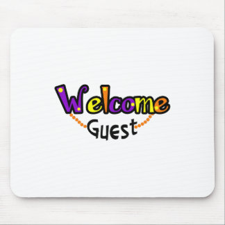 WELCOME GUEST TOWELS MOUSE PADS