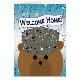 Welcome Home - Air Force Active Duty Greeting Card