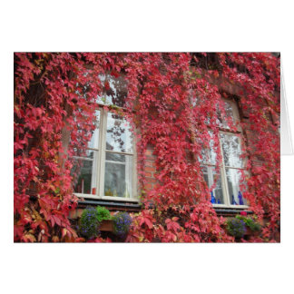 Welcome Home - Autumn Colors Card