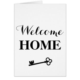 Welcome Home! Card