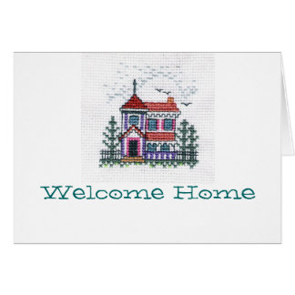 Welcome Home card