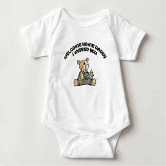 Welcome Home Daddy (Boys) Baby Bodysuit