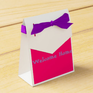 Welcome home favor box (For Her)