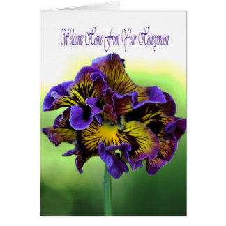 Welcome Home From Your Honeymoon Greeting Card