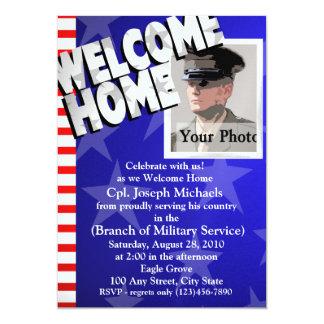 Welcome Home/ Military 13 Cm X 18 Cm Invitation Card