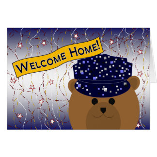 Welcome Home - Navy Active Duty Greeting Card