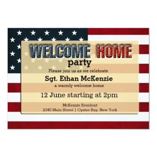 welcome party invitations