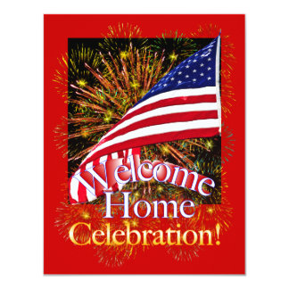 Welcome Home Party Invitations for Military