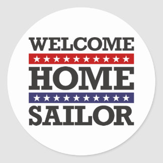 Welcome Home Sailor Stickers