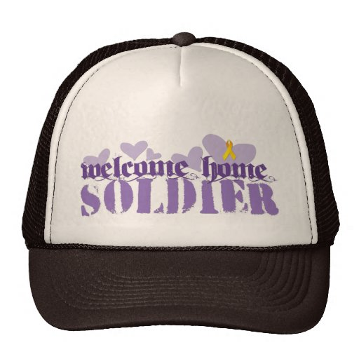 Welcome Home Soldier Hat