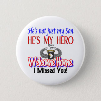 Welcome Home Son Products 6 Cm Round Badge