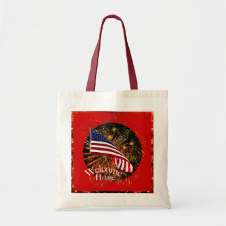 Welcome Home Troops Tote Budget Tote Bag