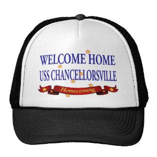 Welcome Home USS Chancellorsville Cap