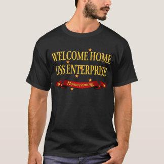 Welcome Home USS Enterprise T-Shirt