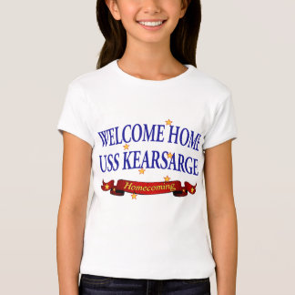 Welcome Home USS Kearsarge T Shirts