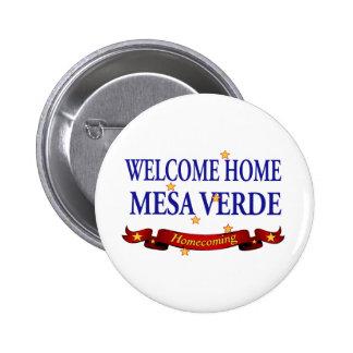 Welcome Home USS Mesa Verde Pinback Button