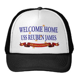 Welcome Home USS Reuben James Cap