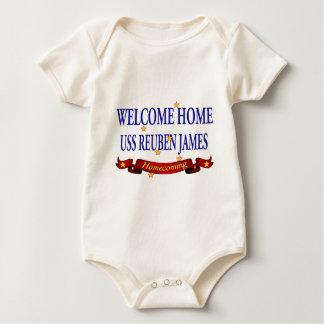 Welcome Home USS Reuben James Romper