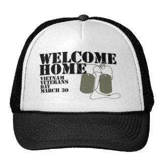 Welcome Home Vietnam Veteran Day Cap