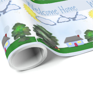 Welcome Home Wrapping Paper